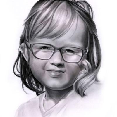 Porträt Tochter