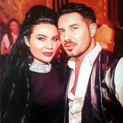 Porträt junges Paar