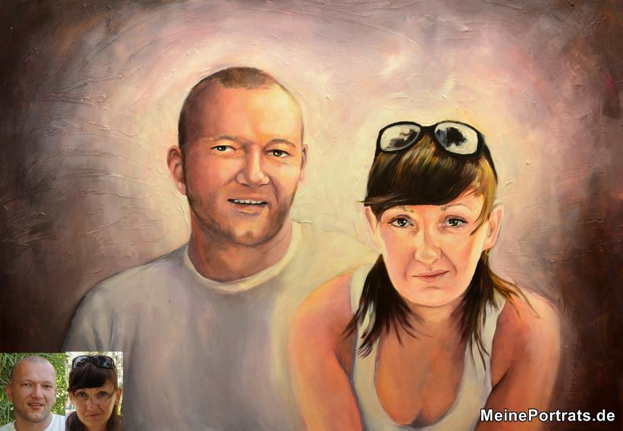 Malerei auf Leinwand Ehe