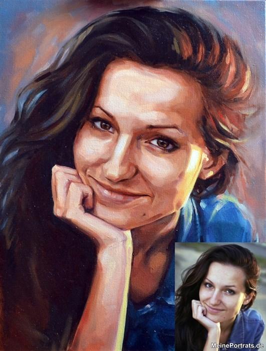 portrait Freundin
