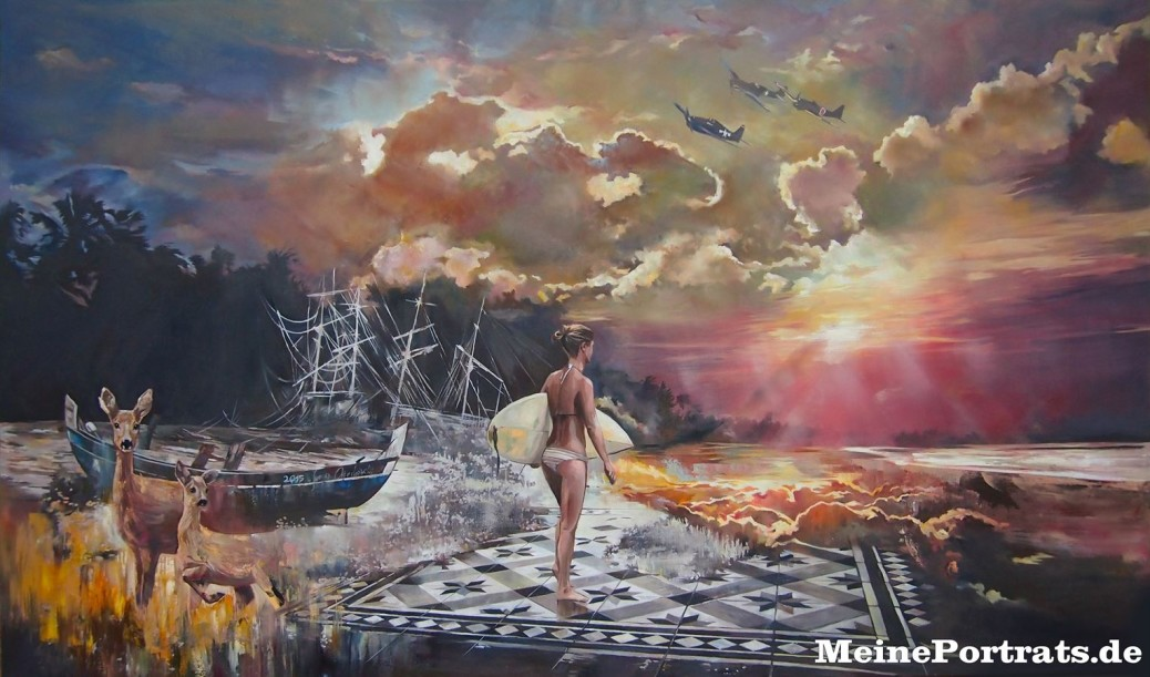 Surreale Gemälde