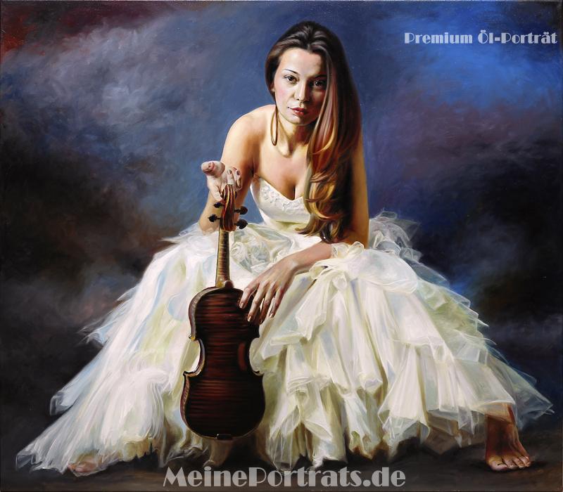 Portraitmalerei Ölbild