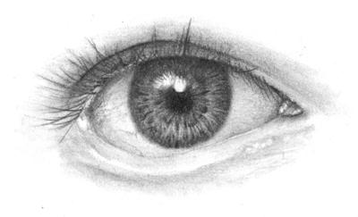 Auge Realismus bekommen