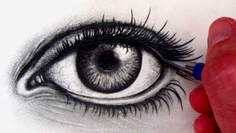 Auge Zeichnen Lernen Video